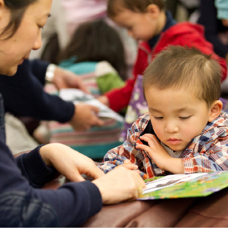 Create literate and engaged communities with early years' education programs